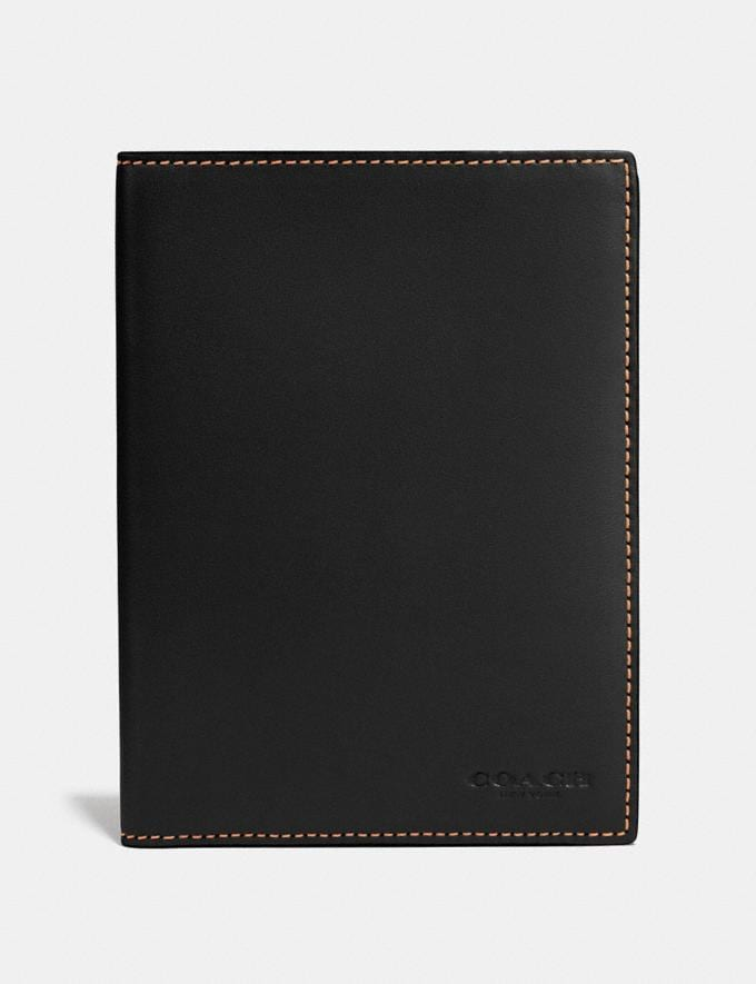 Coach Passport Case Black Personalise For Him Accessories