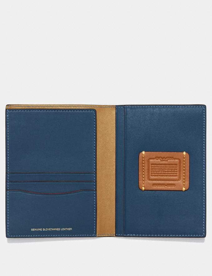 Coach Passport Case Denim Personalise Personalise It Monogram For Her Alternate View 1