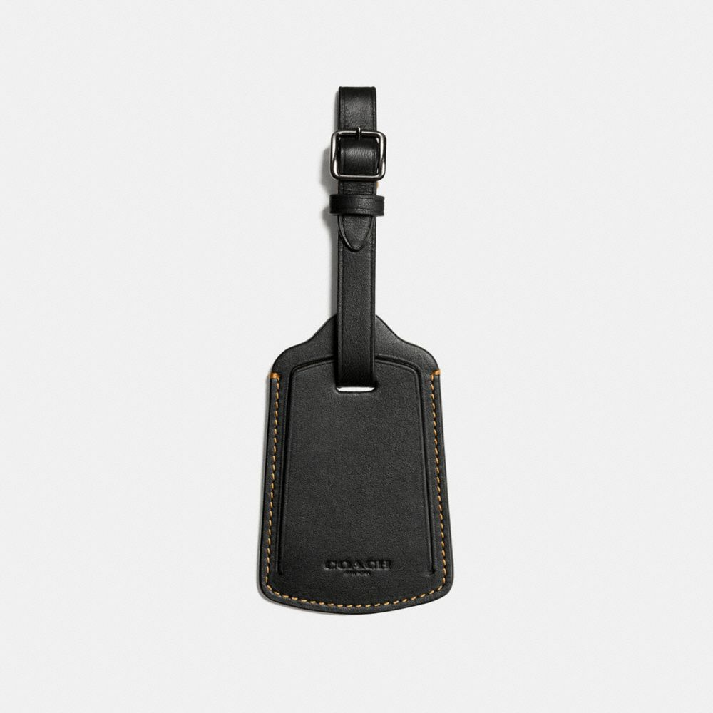 Coach Luggage Tag