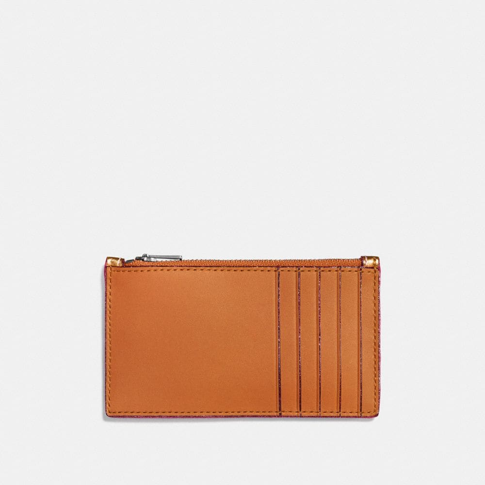 Coach Zip Card Case Alternate View 1