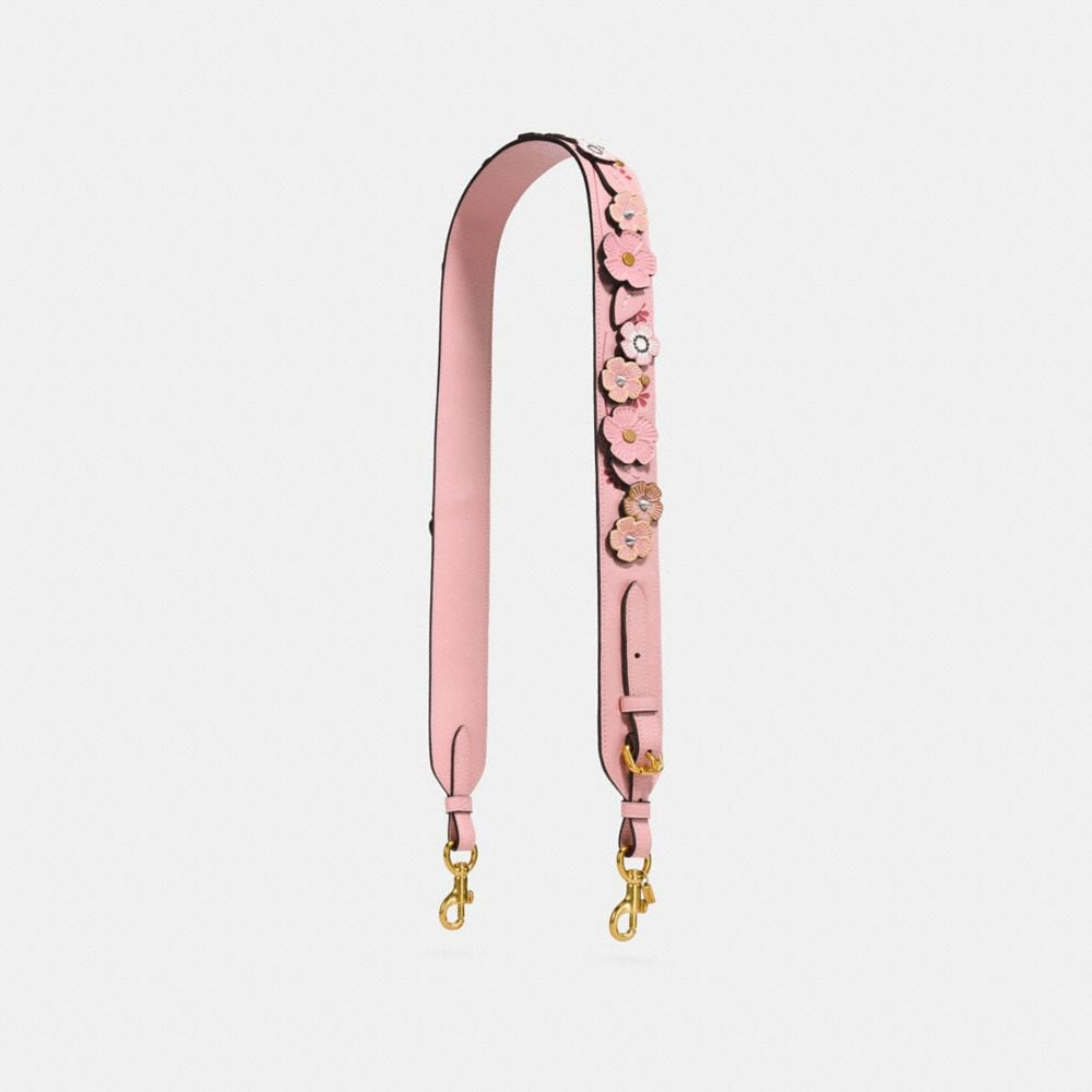 Coach Strap With Tea Rose