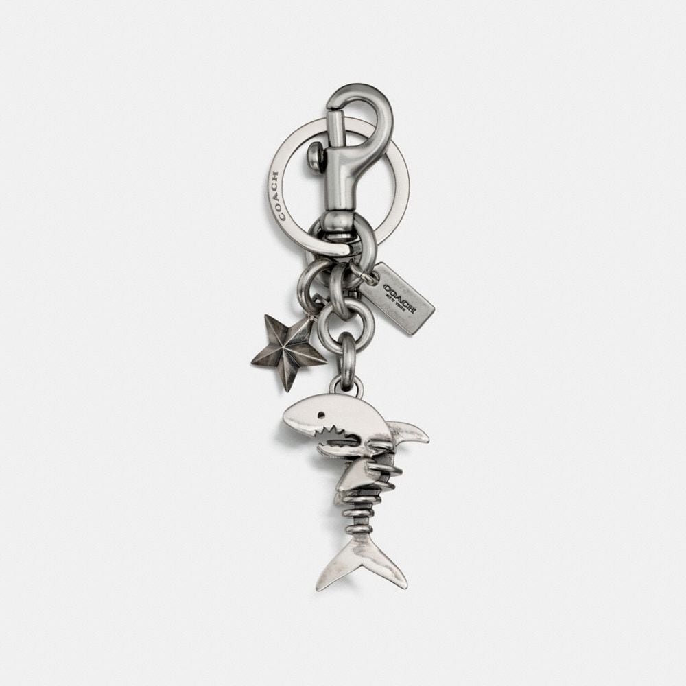 Coach Skeletal Sharky Bag Charm Coach