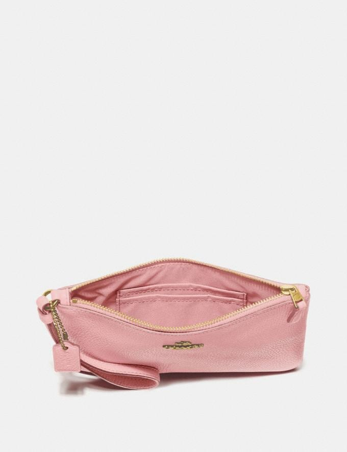 Coach Small Wristlet Blossom/Gold New Featured Online-Only Alternate View 1