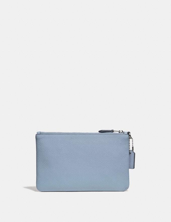 Coach Small Wristlet Silver/Mist New Featured Online Exclusives Alternate View 1