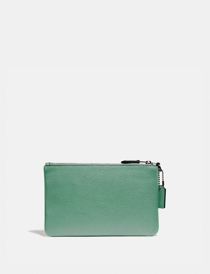 Coach Small Wristlet V5/Washed Green New Women's New Arrivals Alternate View 1