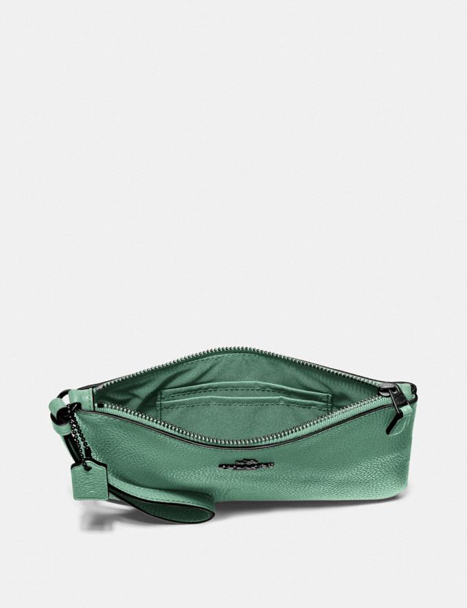 Coach Small Wristlet V5/Washed Green New Women's New Arrivals Alternate View 2