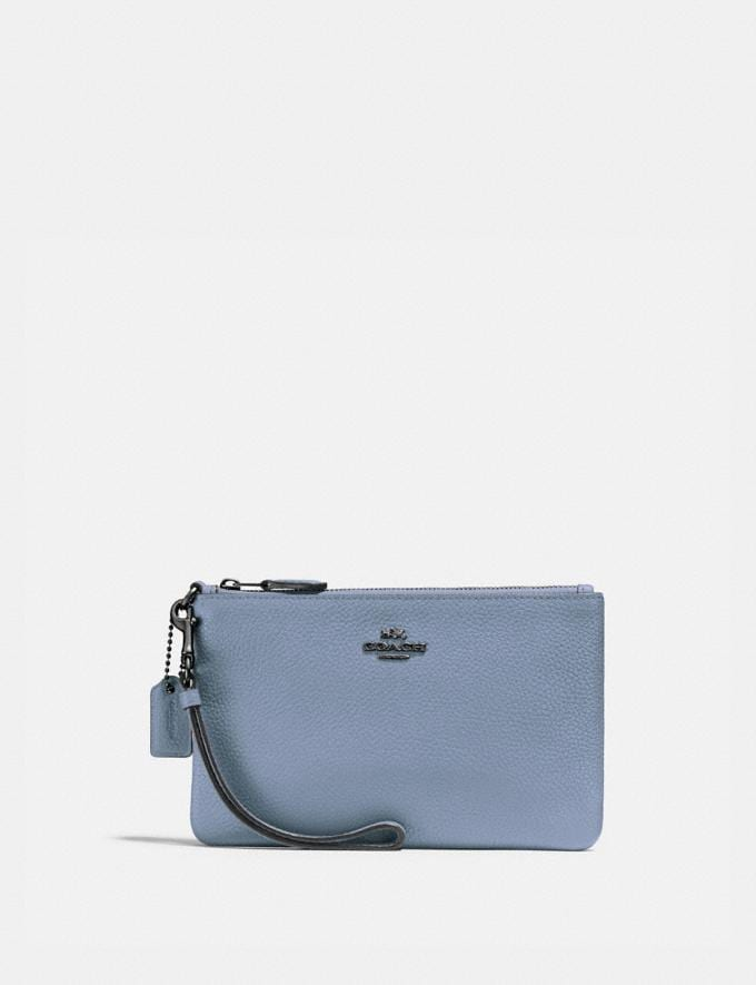 Coach Small Wristlet V5/Bluebell SUMMER SALE Sale Edits New to Sale New to Sale
