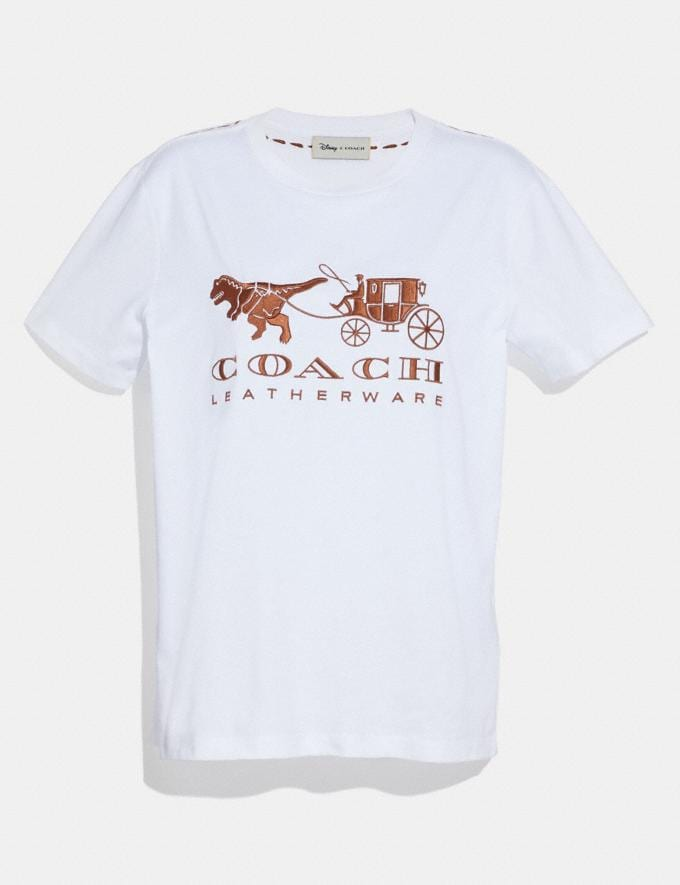 Coach Rexy and Carriage T-Shirt White Women Ready-to-Wear Tops & T-shirts