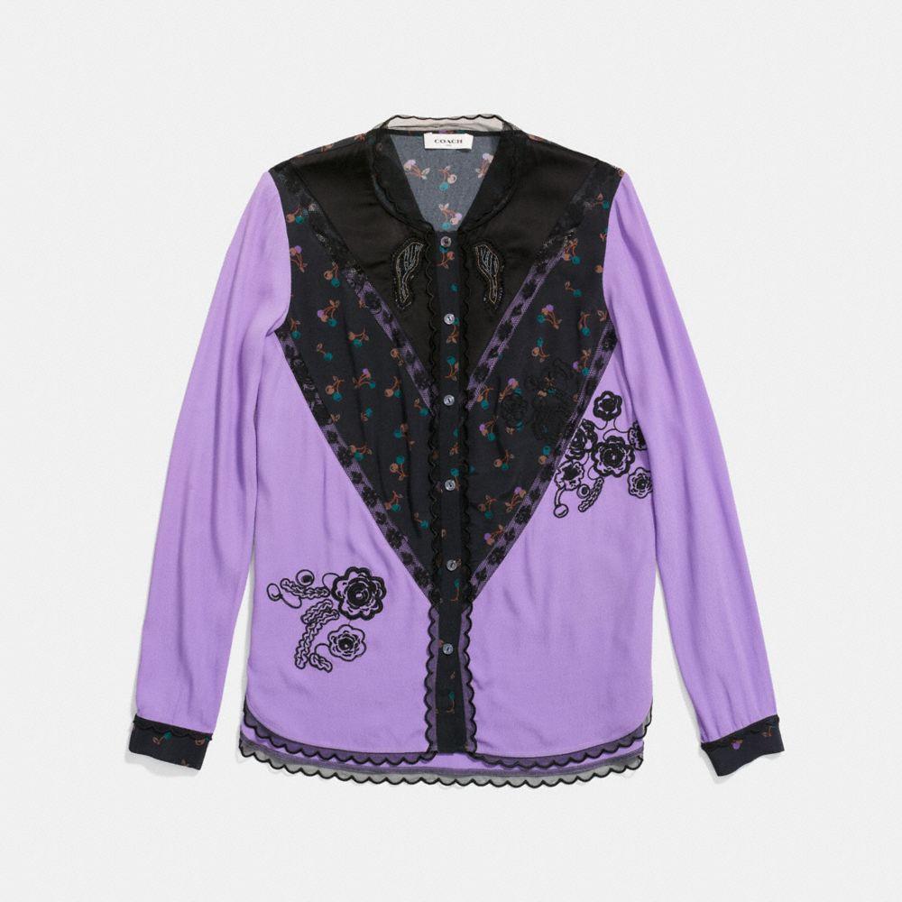 varsity blouse