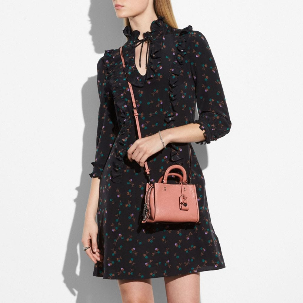 Coach Western Shirt Dress Alternate View 3