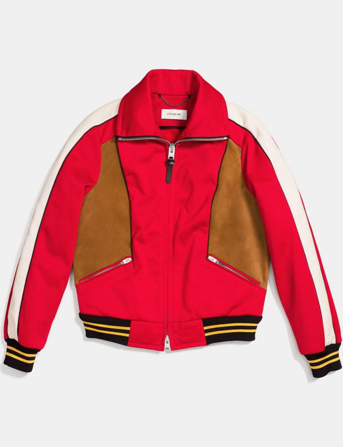 Coach Track Jacket Red