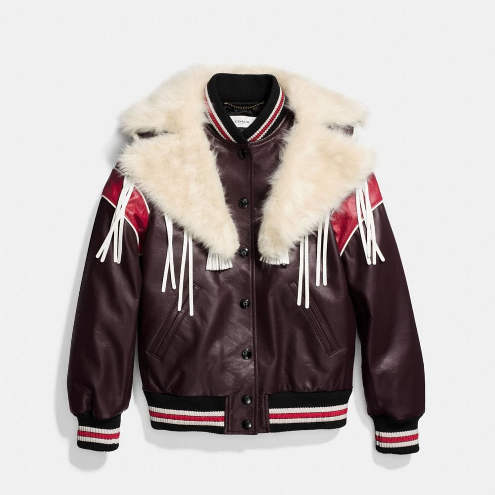DREAM CATCHER VARSITY COAT