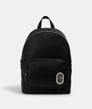 COURT BACKPACK WITH COACH PATCH