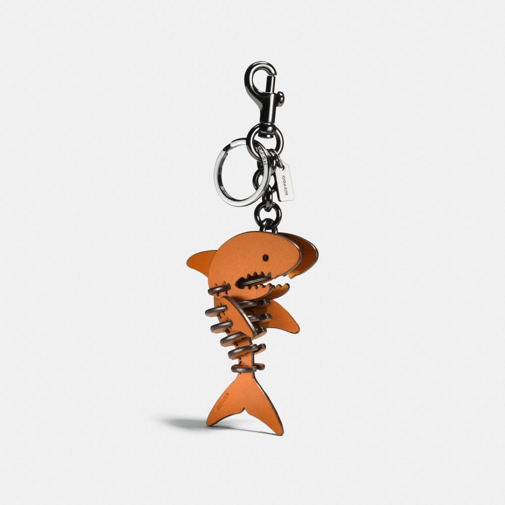 Coach Small Sharky Puzzle Bag Charm