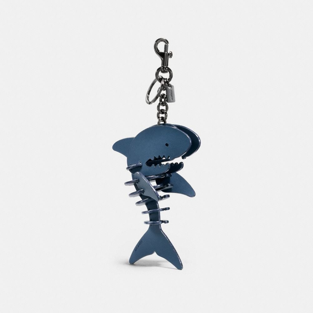 MEDIUM SHARKY PUZZLE BAG CHARM