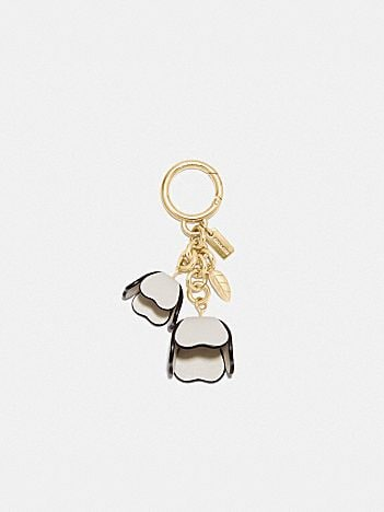 essential tea rose bag charm