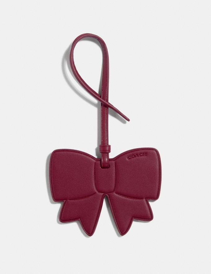 Coach Bow Ornament Scarlett Women Accessories Bag Charms and Key Rings