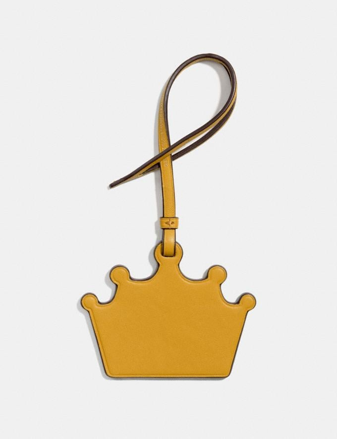 Coach Crown Ornament Flax  Alternate View 1