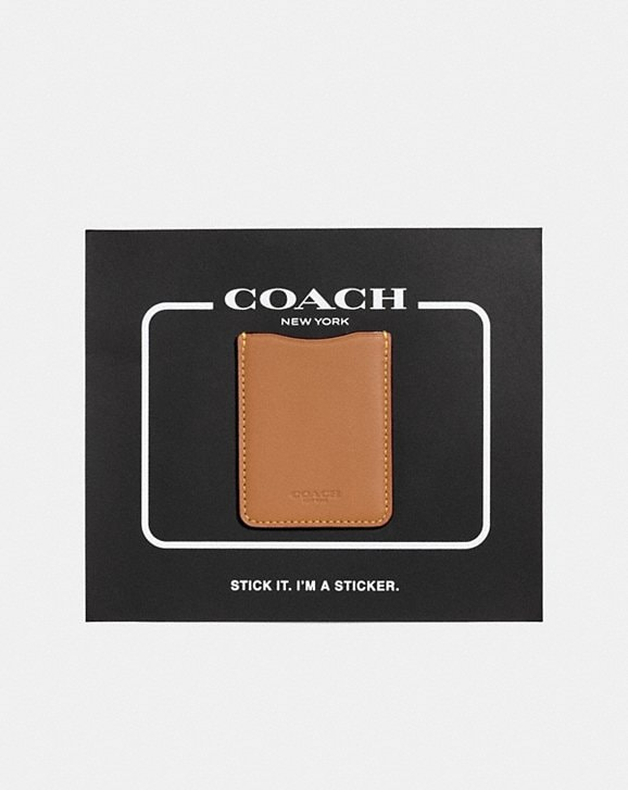 Coach PHONE POCKET STICKER
