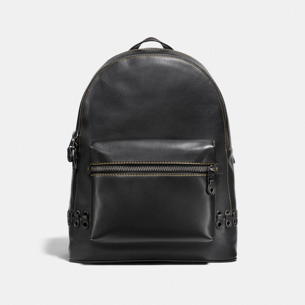 Coach League Backpack With Coach Link Detail