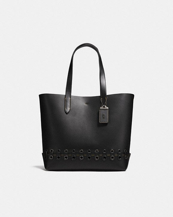 Coach Gotham Tote With Coach Link Detail
