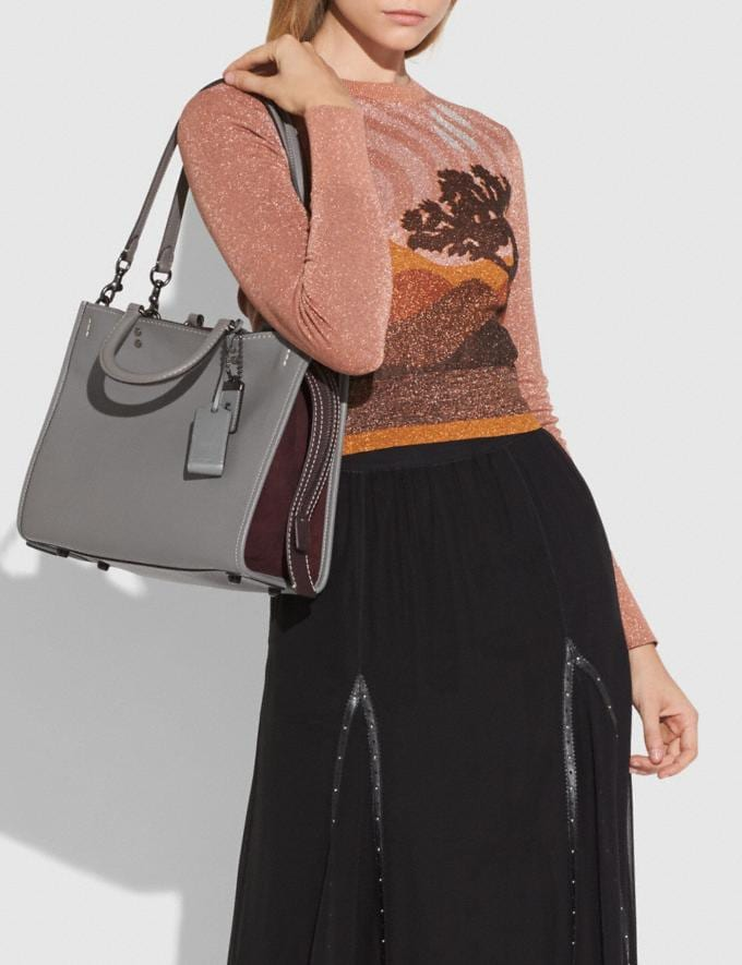 Coach Rogue Heather Grey/Black Copper SALE null Black Friday Event Alternate View 4