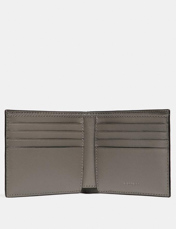Coach Double Billfold Wallet Fog Gifts For Him Valentine's Gifts Alternate View 1