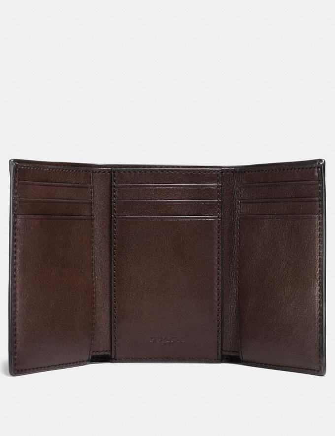 Coach Trifold Wallet Chestnut Men Wallets Alternate View 1