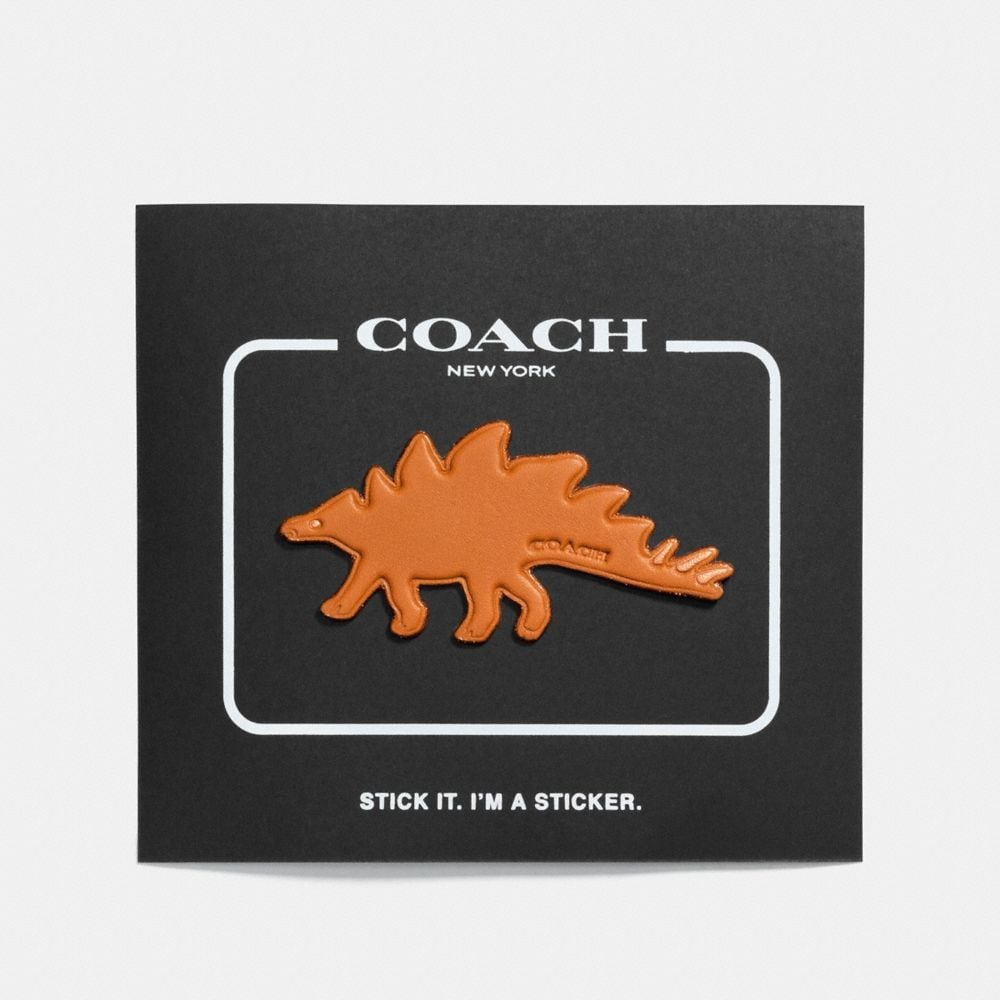 Coach Steggy Sticker