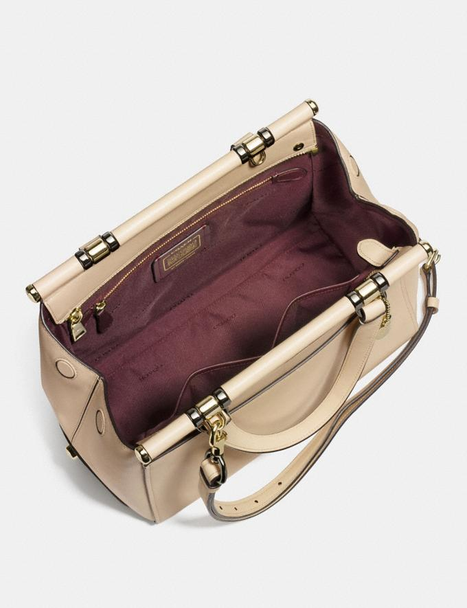 Coach Selena Grace Bag Selena White/Light Gold Gifts For Her Bestsellers Alternate View 2