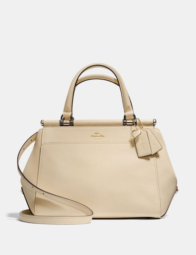 Coach Selena Grace Bag Selena White/Light Gold Gifts For Her Bestsellers