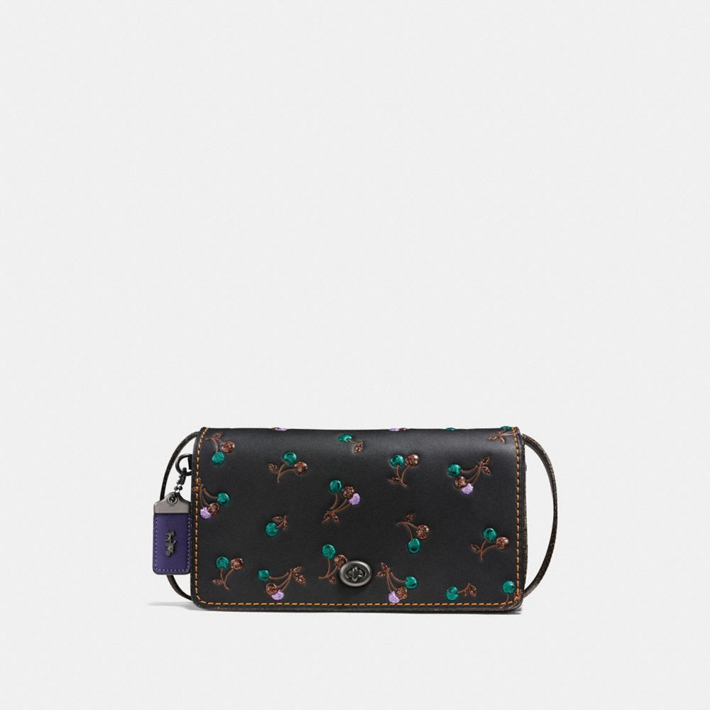 Coach Dinky With Cherry Print