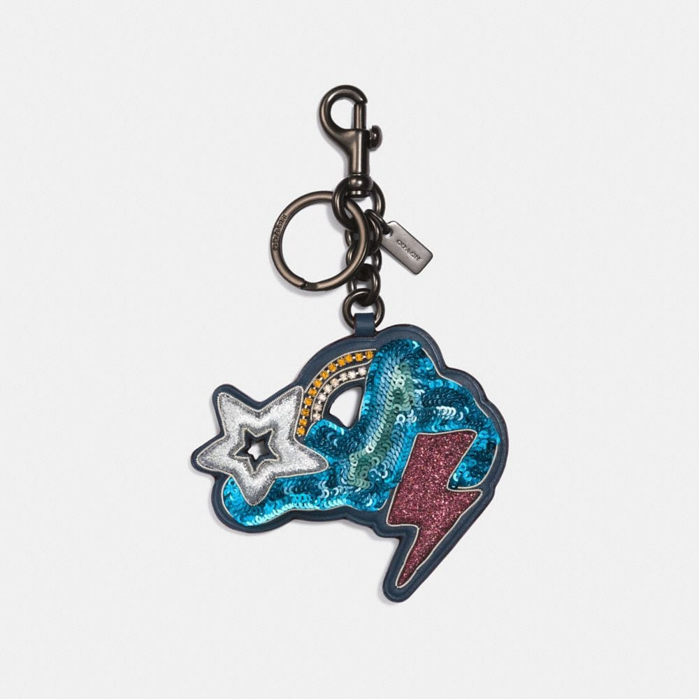 Coach Cloud and Star Bag Charm
