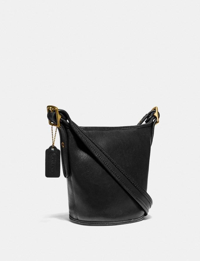 Coach Restored Duffle 10 Brass/Black New Women's New Arrivals Bags Alternate View 1