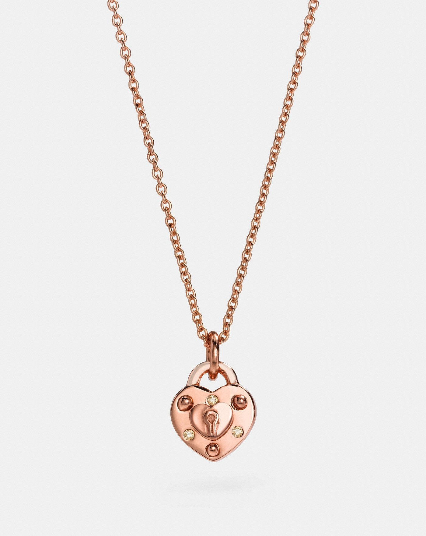 frannieb products mini fine jewelry heart necklace