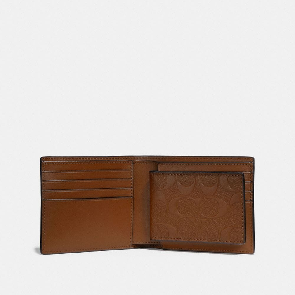 Coach 3-In-1 Wallet in Signature Leather Alternate View 1