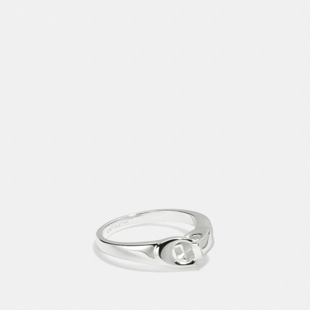 signature chain link ring