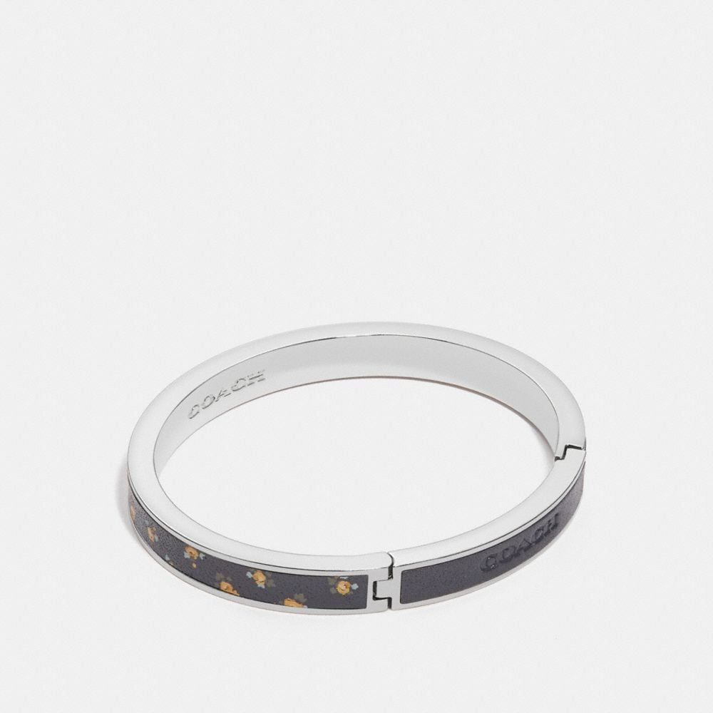 Coach Printed Hinged Bangle