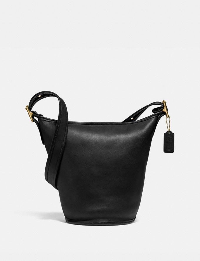 Coach Restored Duffle 13 Brass/Black New Women's New Arrivals Bags