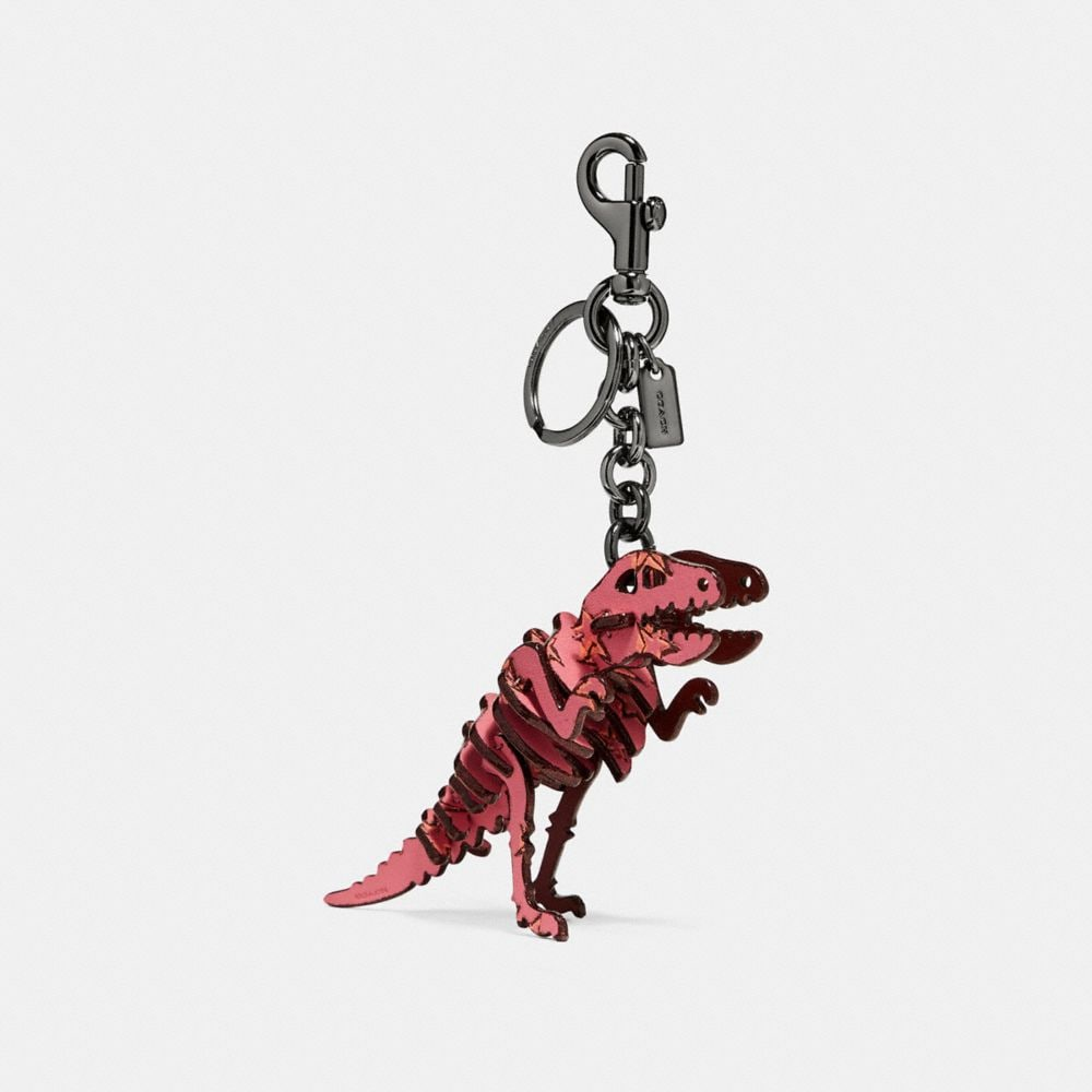 COACH SMALL PRINTED REXY BAG CHARM - WOMEN'S