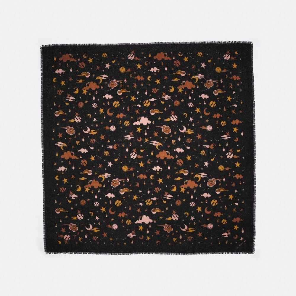 Coach  COACH OUTERSPACE PRINT OVERSIZED SQUARE
