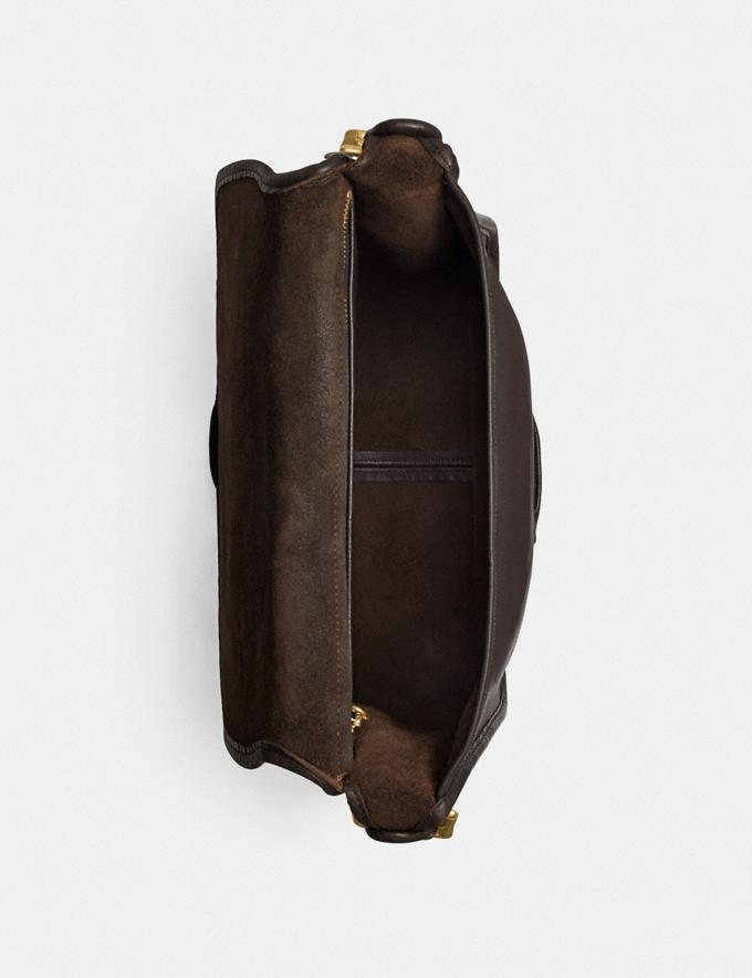 Coach Restored Courier Bag Brass/Mahogany New Women's New Arrivals View All Alternate View 2