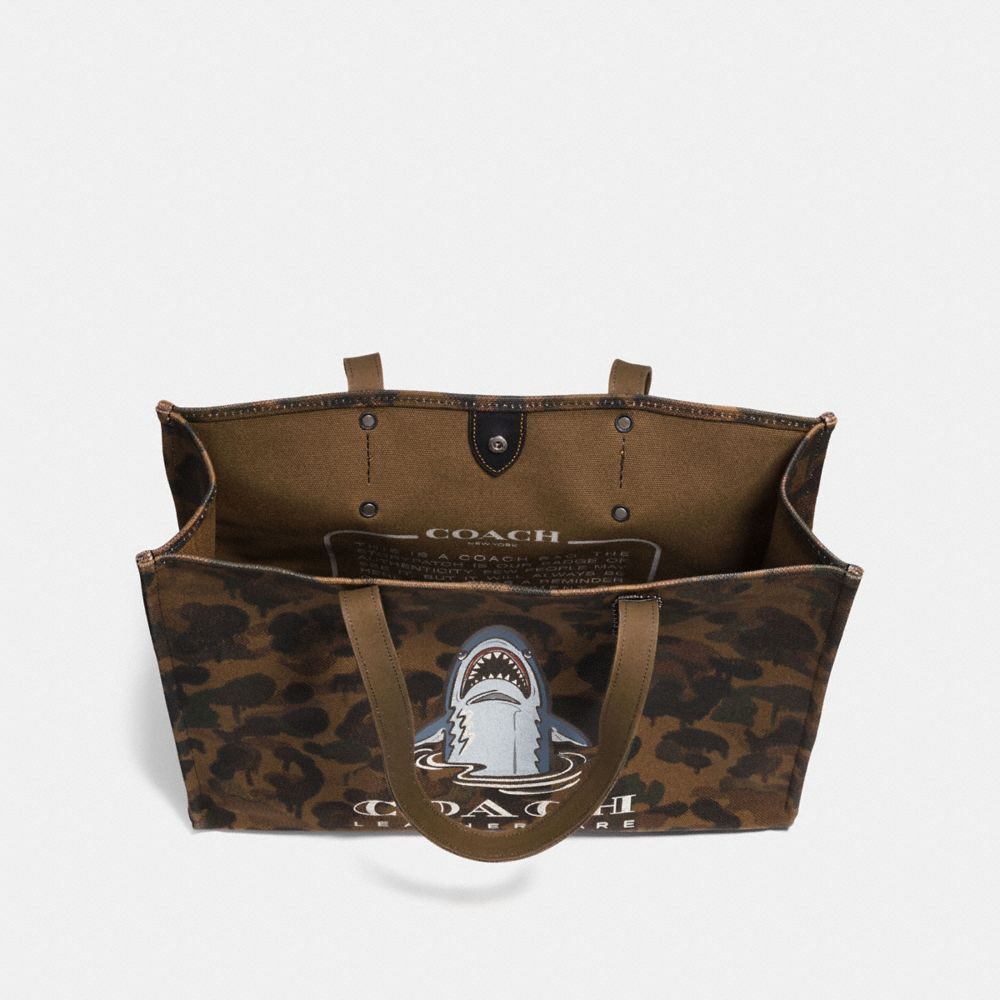 Coach Sharky Tote 42 Alternate View 2