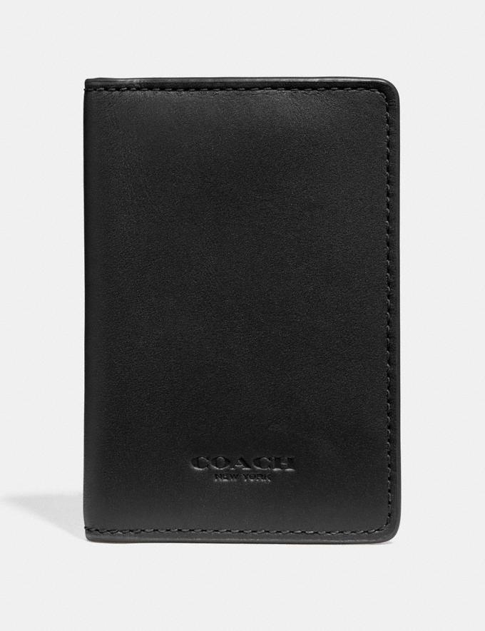 Coach Complimentary Card Case Black
