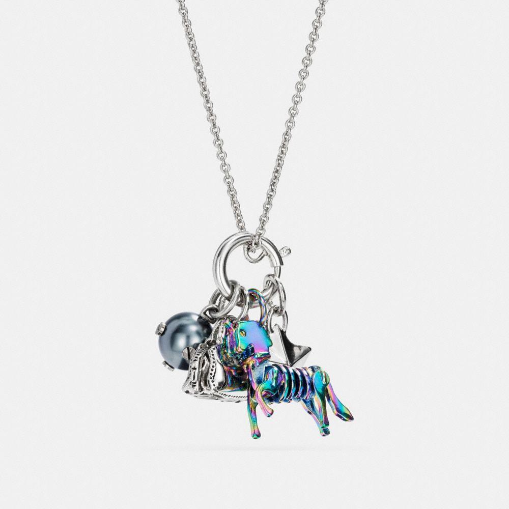 Coach Uni Charm Collectible Necklace Set