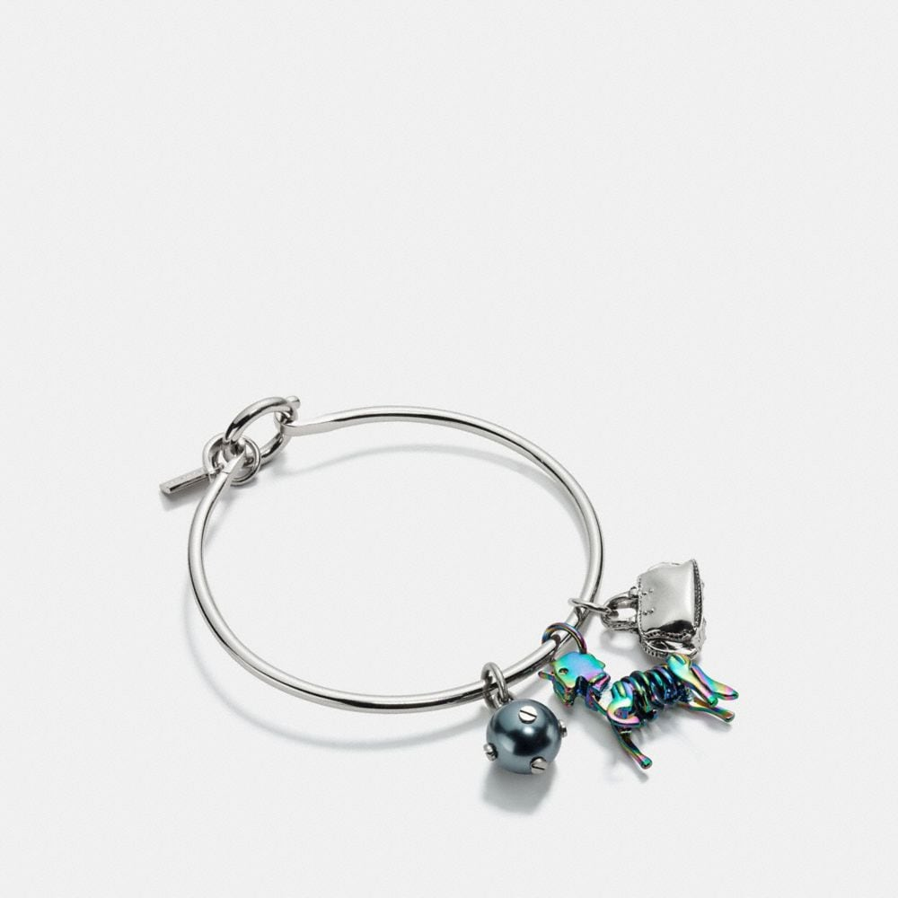 Coach Uni Charm Collectible Hoop Bangle Set