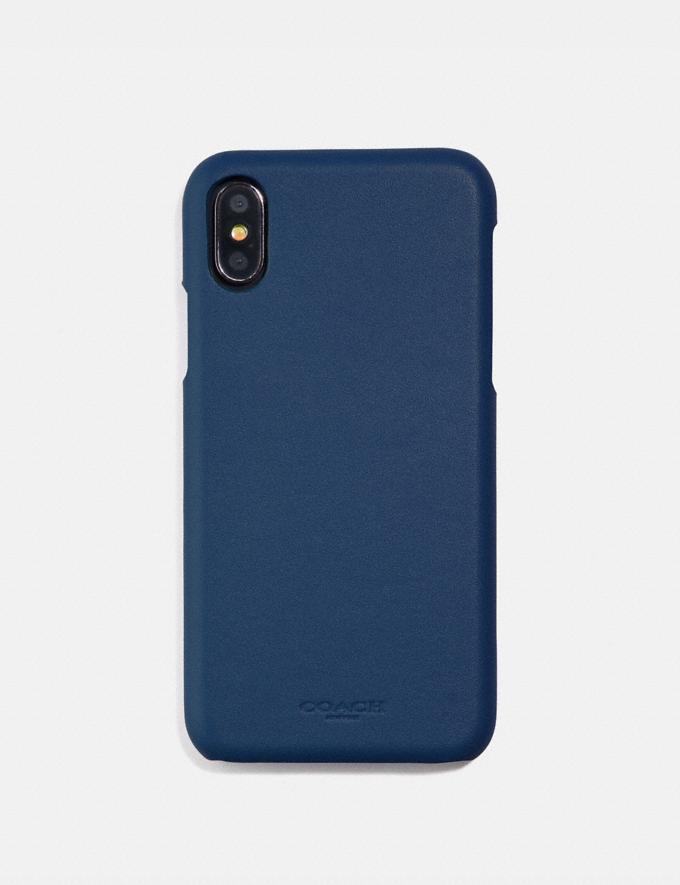 Coach iPhone 6s/7/8/X/Xs Case Dark Denim SALE Women's Sale Accessories