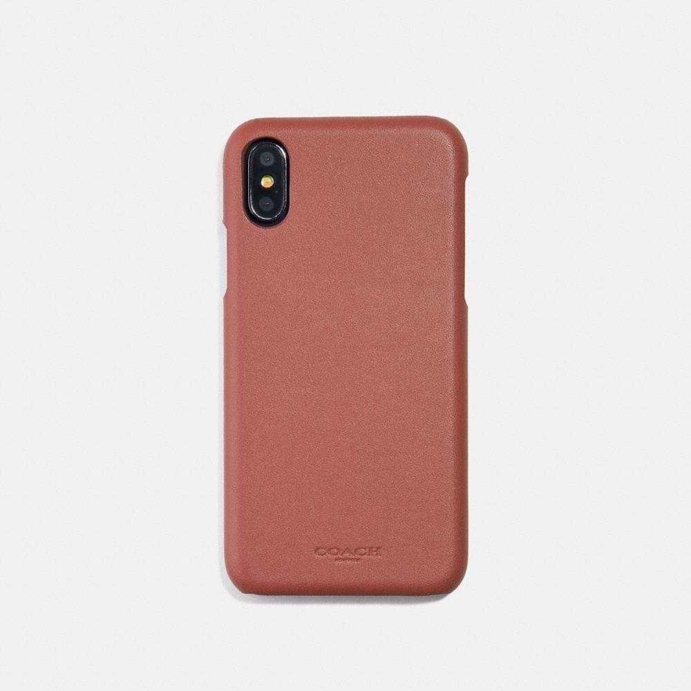 COACH: iPhone 8/X Case