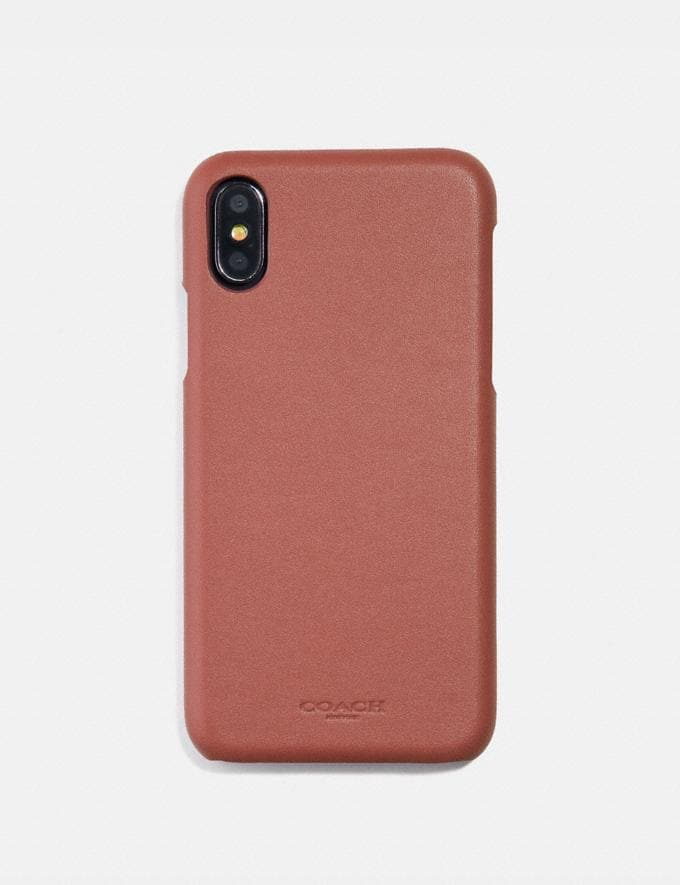 Coach iPhone 6s/7/8/X/Xs Case Saddle  Alternate View 1