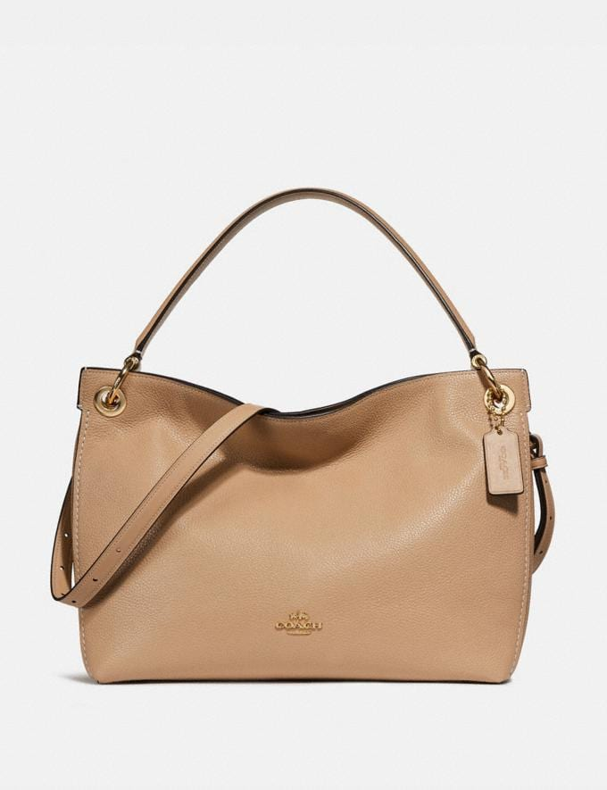 Coach Clarkson Hobo Beechwood/Light Gold Bags